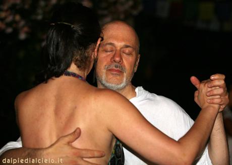 io e Rosamaria, tango