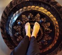piedi e gong